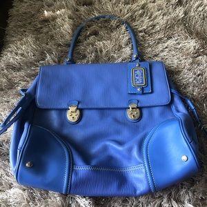 Tumi Carlos Falchi Blue handbag